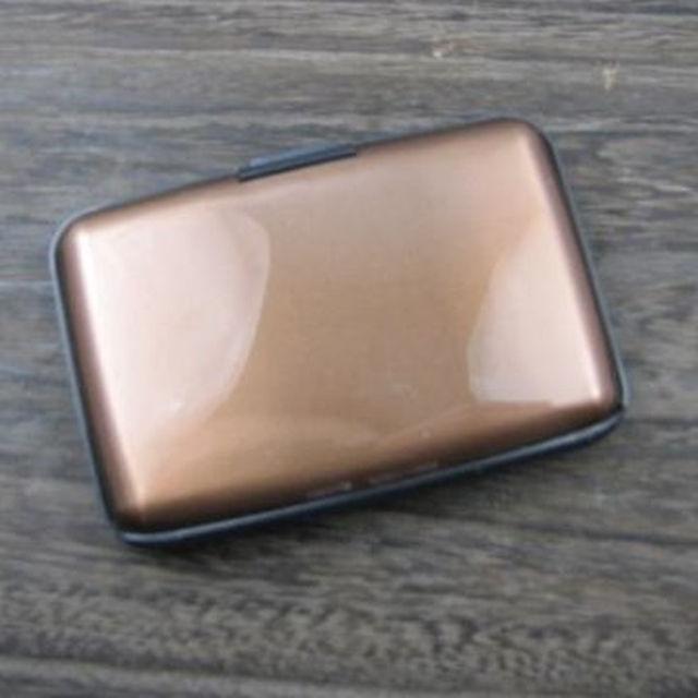 新品のカードケース ブラウン メンズのファッション小物(その他)の商品写真