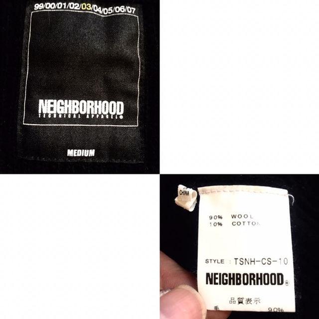 NEIGHBORHOOD(ネイバーフッド)のNEIGHBORHOOD★ウールニット★クルーネック★ネイバーフッド★黒 メンズのトップス(ニット/セーター)の商品写真