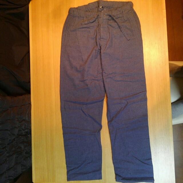 MUJI (無印良品)(ムジルシリョウヒン)の未使用 無印良品 紳士 脇に縫い目のない フランネルパジャマ メンズのメンズ その他(その他)の商品写真