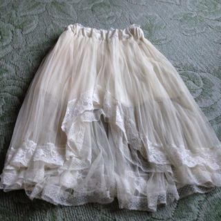 リズリサ(LIZ LISA)のLIZLISAアシンメトリースカート(ひざ丈スカート)