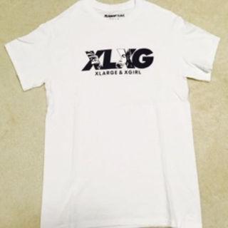 エクストララージ(XLARGE)のXLARGE×X-girlコラボレーションTシャツ ホワイト(その他)