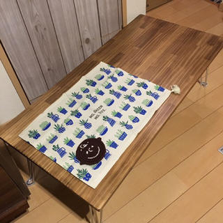 【12/31まで年末大特価セール】天然無垢材カフェセンターローテーブル(ローテーブル)