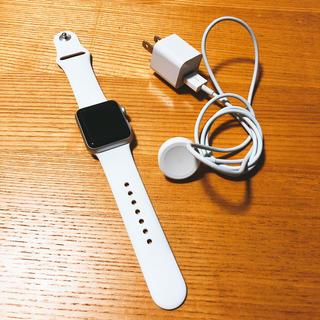 アップルウォッチ(Apple Watch)の【美品】Applewatchseries2(みやぞん様)(スマートフォン本体)