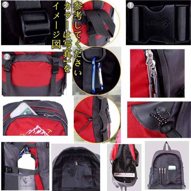 HW-915新品★グリーン★登山 アウトドア キャンプ リュック バックパック メンズのバッグ(その他)の商品写真