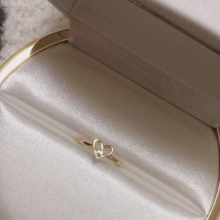 アーカー(AHKAH)のAHKAH  アーカー 指輪 リング クリスマス限定 フィールジュハート(リング(指輪))
