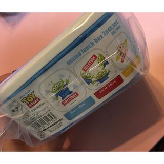 トイストーリー(トイ・ストーリー)の新品未使用トイストーリーお弁当箱♡リトルグリーンメン(弁当用品)