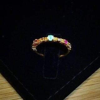 アーカー(AHKAH)のAHKAH アーカー K18YG ジャルダンリング 13号 定価60480円(リング(指輪))