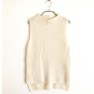 ムジルシリョウヒン(MUJI (無印良品))の【wool100%】ニットベスト(ニット/セーター)