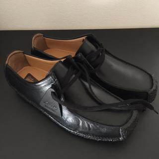クラークス(Clarks)のClarks Natalie レディース クラークス ナタリー 黒 25.5cm(ローファー/革靴)