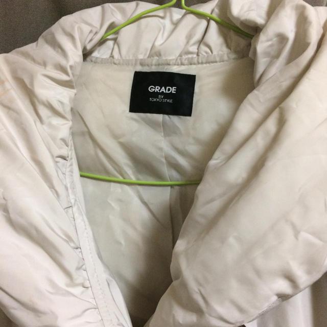 ダウンコート  ホワイト レディースのジャケット/アウター(ダウンコート)の商品写真