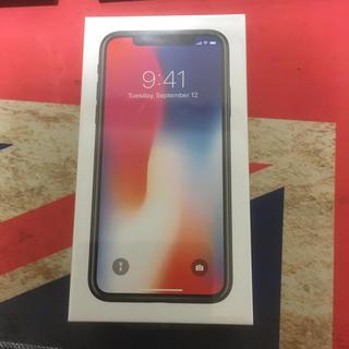 アイフォーン(iPhone)のぴざ様 専用 iPhoneX 64GB SIMフリー 未開封(スマートフォン本体)