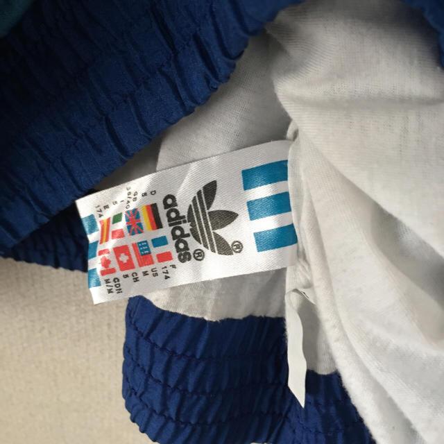 adidas(アディダス)の90s adidas ナイロンジャケット ビンテージ マルチカラー  メンズのジャケット/アウター(ナイロンジャケット)の商品写真