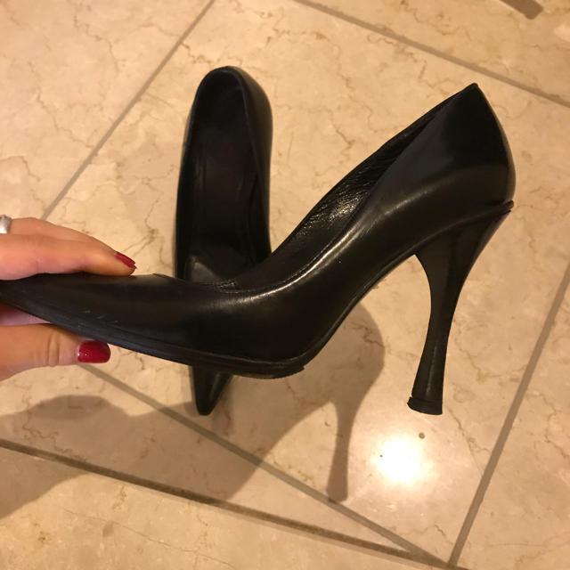 Gucci(グッチ)のGUCCI 黒パンプス レディースの靴/シューズ(ハイヒール/パンプス)の商品写真