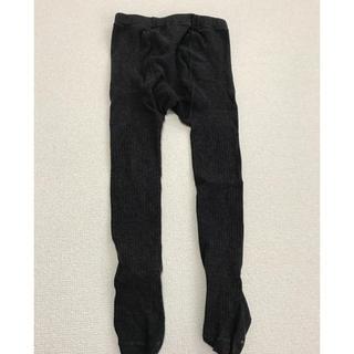 ムジルシリョウヒン(MUJI (無印良品))の無印良品 リブタイツ 90(靴下/タイツ)