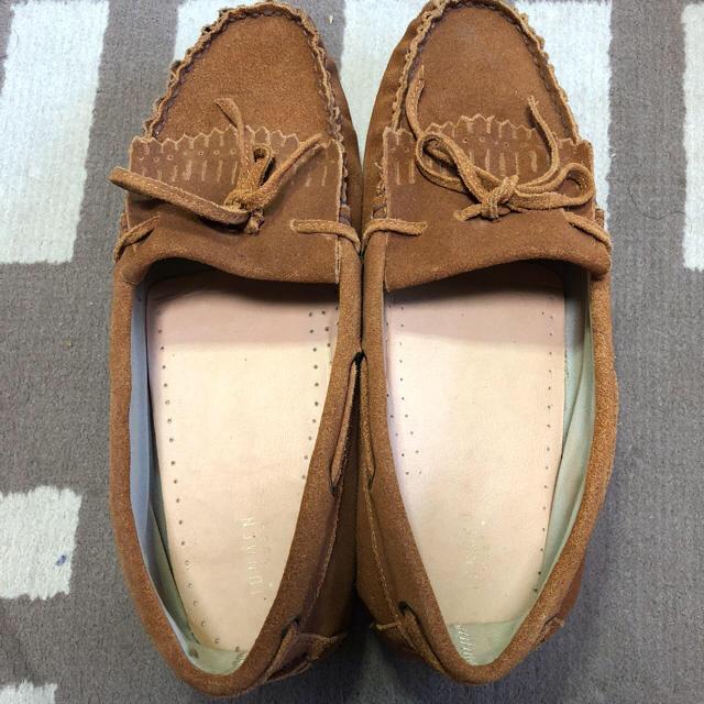 JUNMEN(ジュンメン)のJUNMEN デッキシューズ Lサイズ ベージュ  メンズの靴/シューズ(デッキシューズ)の商品写真