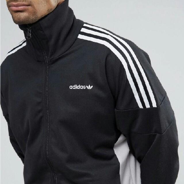 adidas(アディダス)の【 Sサイズ 】新品タグ付き adidas トラック トップ ジャージ ブラック メンズのトップス(ジャージ)の商品写真