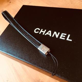 シャネル(CHANEL)のココマーク 携帯ストラップ(ストラップ/イヤホンジャック)