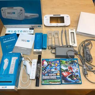 ウィーユー(Wii U)の◆とー様専用◆wii u ベーシックセット ソフトセット(家庭用ゲーム本体)