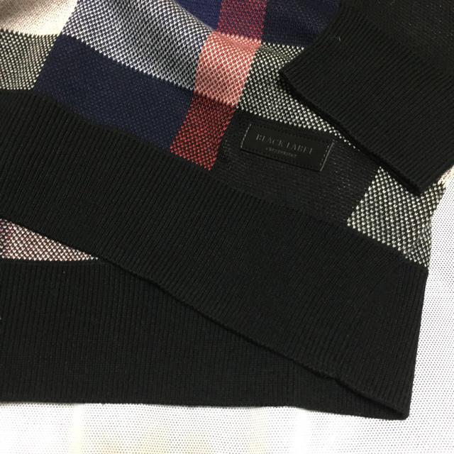 BLACK LABEL CRESTBRIDGE(ブラックレーベルクレストブリッジ)の17aw 2.8万ニット クレストブリッジ ブルーレーベル バーバリー メンズのトップス(ニット/セーター)の商品写真
