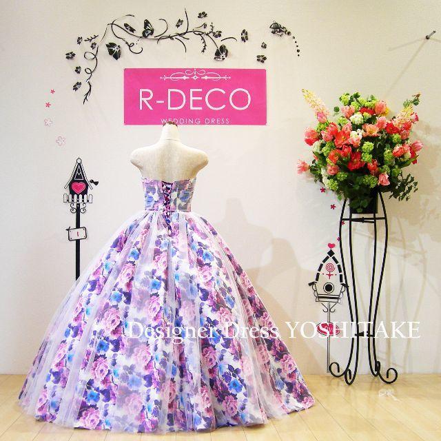 ウエディングドレス オーバーチュールタイプ/披露宴/二次会 レディースのフォーマル/ドレス(ウェディングドレス)の商品写真