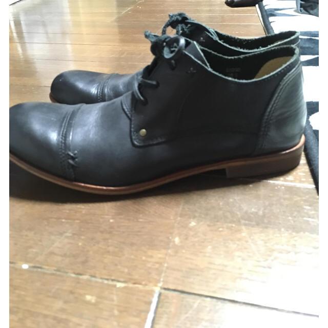 Lee(リー)の☆美品☆ Lee 本革ブーツ ブラック メンズの靴/シューズ(ブーツ)の商品写真