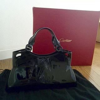 カルティエ(Cartier)のカルティエ マルチェロ 黒 未使用品 光沢あり(その他)