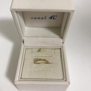 カナルヨンドシー(canal4℃)のcanal4°C♡ピンキーリング(リング(指輪))