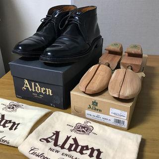 オールデン(Alden)のALDEN 1340 コードヴァン サイズ7 Dワイズ シューツリー付き(ドレス/ビジネス)