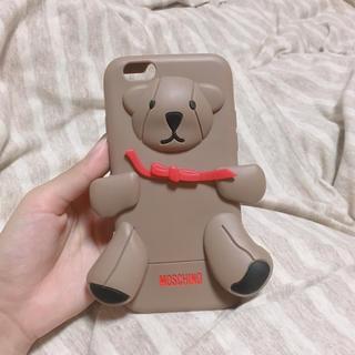 モスキーノ(MOSCHINO)のiPhone6 6s ケース(iPhoneケース)