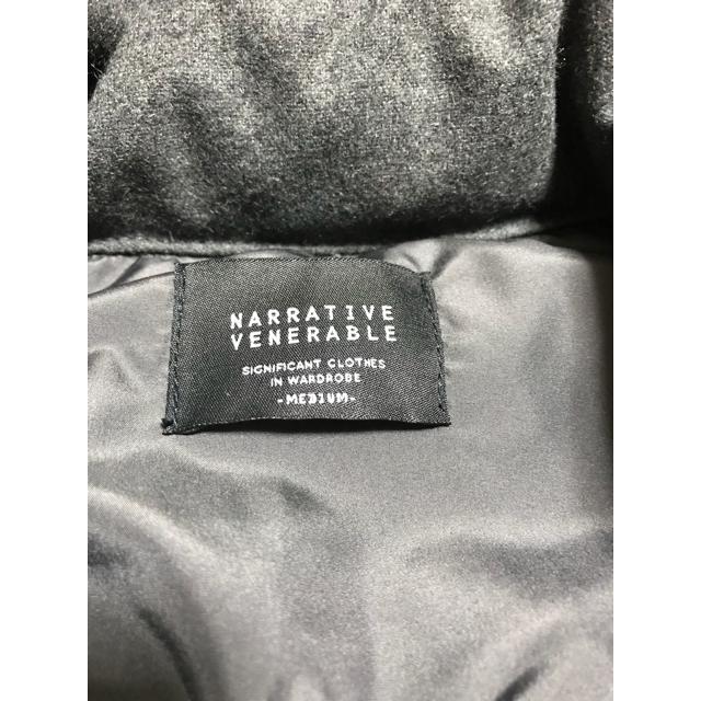 NARRATIVE VENERABLEダウンベスト メンズのジャケット/アウター(ダウンベスト)の商品写真