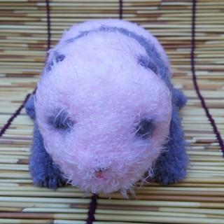 上野限定 ほんとの大きさ パンダの仔 シャンシャン 284g ぬいぐるみ(ぬいぐるみ)