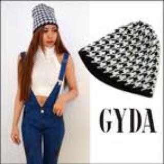 ジェイダ(GYDA)のGYDA 千鳥柄ニット帽(ニット帽/ビーニー)