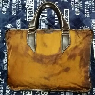 ステファノマーノ(Stefano manO)のSTEFANOMANO ステファノマーノ ブリーフケース マーブル 極上美品(ビジネスバッグ)