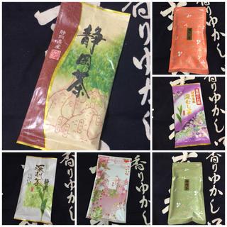 送料込⭐️お茶 6本セット 静岡県産 深蒸し茶 煎茶(茶)