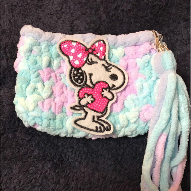 タバコポーチ マルチ サリーカラー ハンドメイドのファッション小物(バッグ)の商品写真