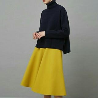 ルシェルブルー(LE CIEL BLEU)のタグ付きLE CIEL BLEU Wメルトンテントスカート  (ひざ丈スカート)