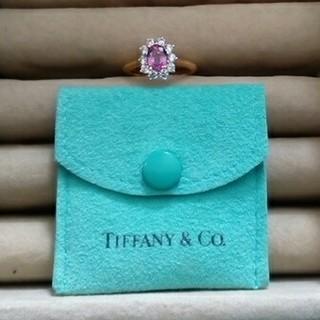 ティファニー(Tiffany & Co.)のティファニー 1ctピンクサファイアリング(リング(指輪))