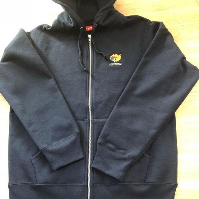 Supreme(シュプリーム)の【M】Ramm Zip Up Sweatshirt Navy メンズのトップス(パーカー)の商品写真