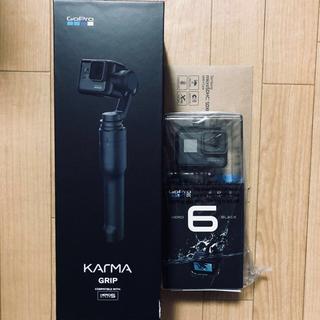 カルマ(KARMA)の新品未開封 gopro hero6 & Karma grip セット(ビデオカメラ)