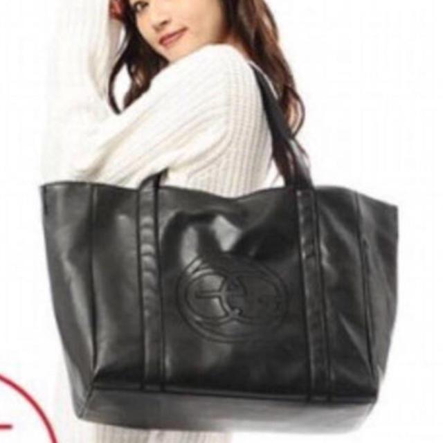 EGOIST(エゴイスト)の新品 エゴイスト  トートバッグ ブラック レディースのバッグ(トートバッグ)の商品写真