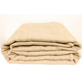 ムジルシリョウヒン(MUJI (無印良品))の無印良品 インド綿手織やわらかいラグ/ベージュ140×200cm 生成(ラグ)