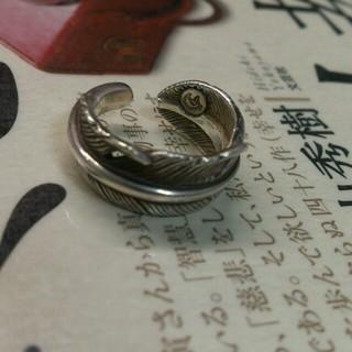 ゴローズ(goro's)のタディ&キング  フェザーリング シルバー925(リング(指輪))