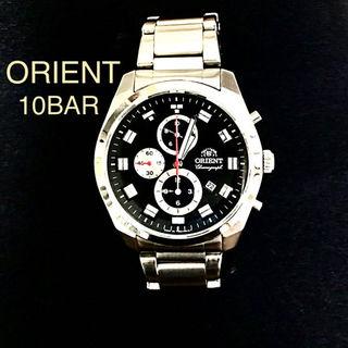 オリエント(ORIENT)の🔴美品🔴 ORIENT.オリエント 🔴 10BAR、メンズ、腕時計(その他)
