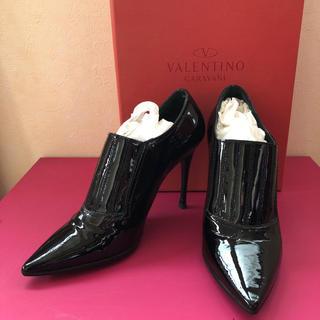ヴァレンティノ(VALENTINO)の美品 👠 VALENTINO ブーティー(ブーティ)