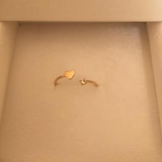 サマンサティアラ(Samantha Tiara)のサマンサ ティアラ 紗栄子コラボ k18リング 指輪 りんぺろさま専用(リング(指輪))