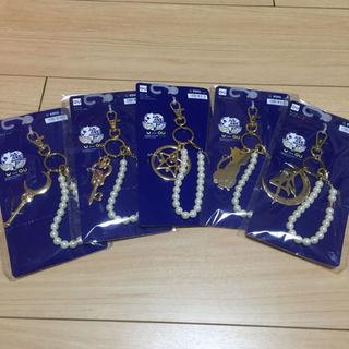 ジーユー(GU)の全5種セット バッグチャーム セーラームーン g.u.  コラボ gu ジーユー(チャーム)