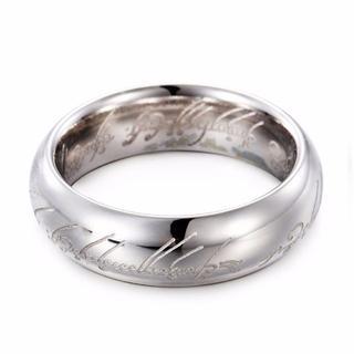 高品質316Lステンレス シルバー ゴールド ブラック ロードオブザリング 指輪(リング(指輪))