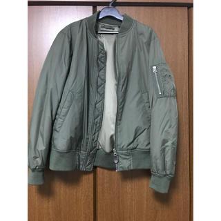 ユニクロ(UNIQLO)のMA-1ジャケット お値下げします!(ブルゾン)