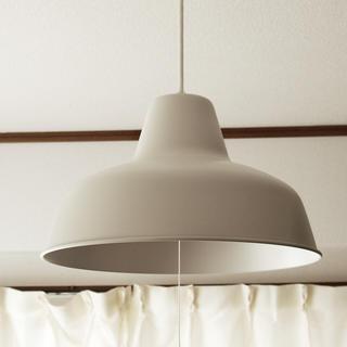 ムジルシリョウヒン(MUJI (無印良品))のLEDペンダントライト・2灯タイプ(天井照明)
