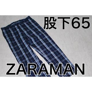 ザラ(ZARA)の美品 ZARA MAN ザラマン パンツ S メンズ チェック(スラックス)